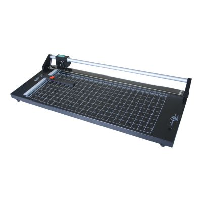 "24"" 60cm Manual Precision Rotary Paper Guillotine Trimmer, Sharp Photo Paper Cutter"